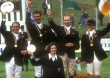 Eventing World Championships winning team New Zealand - ©Kit Houghton / FEI