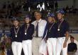 Medal Ceremony, French Gold Medal - ©Kit Houghton / FEI