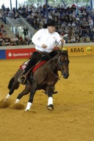World Reining champion Duane Latimer (CAN) - ©FEI