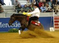 World Reining champion Duane Latimer (CAN) riding Hang Ten Surprise - ©FEI