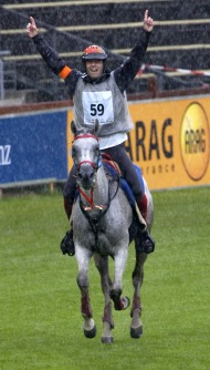 Miguel Vila Ubach on Hungares (Spain) Gold medal winner Endurance - ©Kit Houghton / FEI