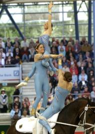 German gold medal vaulting team  - ©Kit Houghton / FEI