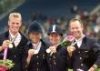 German gold medal event team - ©Kit Houghton / FEI