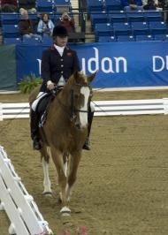 Anne Dunham (GBR) riding Teddy - ©Kit Houghton / FEI