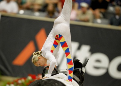 Vaulting : Portrait of a champion, or two...
