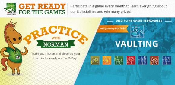 Get ready for the 2014 Games on Facebook !