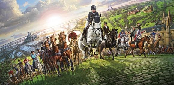Affiche officielle des Jeux