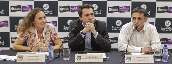 Conf�nce de presse au CSIO Barcelone - Septembre 2013