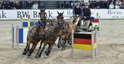 Driving CAI- W Leipzig: German victory for Daniel Schneiders