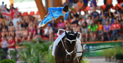 Vaulting : Germany sweeps the final World Cup stage in Leipzig
