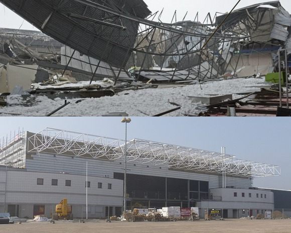 Exhibition Centre, 1 year on:  the work continues!