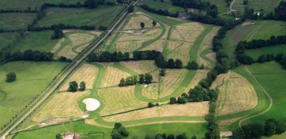 Walk of the Eventing's cross-country course at Le Pin National Stud on 28 and 29 August 2014