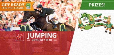 Win tickets to the Jumping competition with our new Facebook game