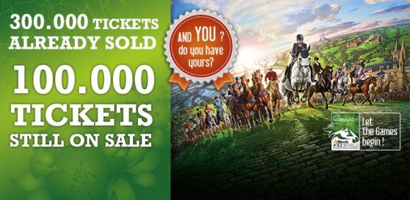 100,000 tickets are still on sale!