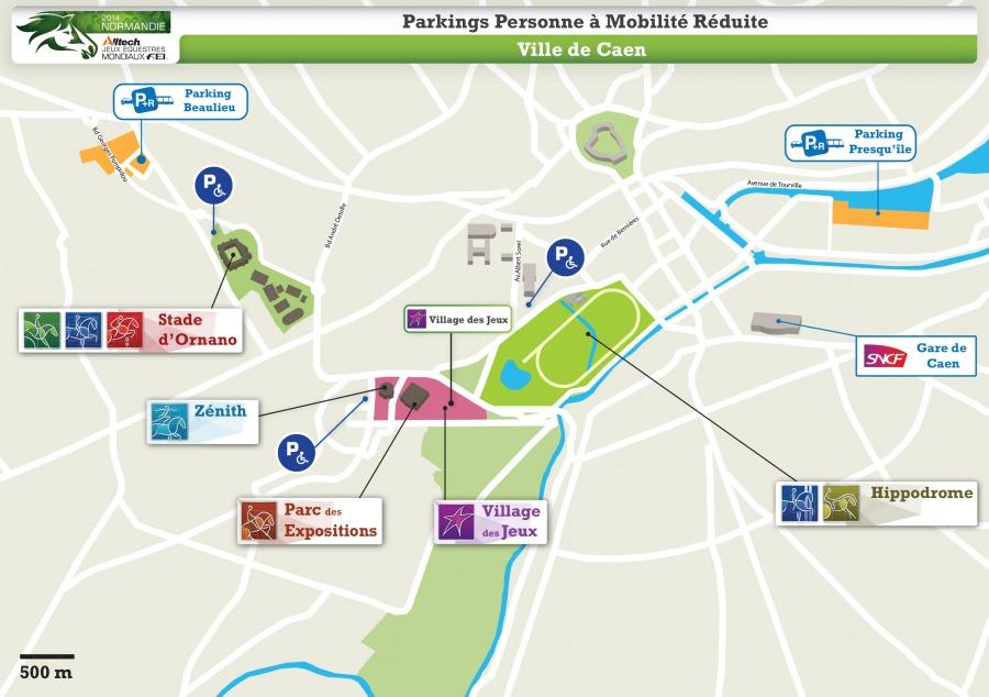 Parkings PMR