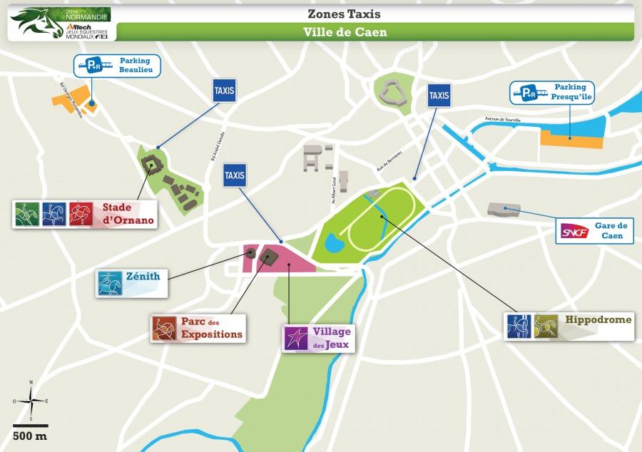 Zones Taxi