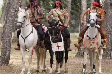 The Indian Myth horse show