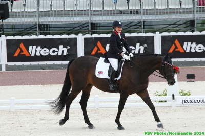 Great Britain Lead the Para Dressage Competition at the Halfway Point