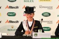 Dressage - press conference Grand Prix Special - Helen LANGEHANENBERG - August 27 - ©PSV Photos