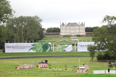 Friday August 29th : access to Le Pin national Stud for the first day of dressage Eventing.