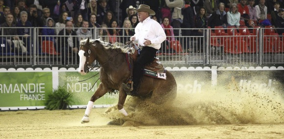 Reining:  The Second Individual Qualifying Competition