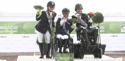 A New Name Takes the Grade II Para Dressage Title
