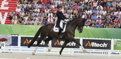 Valegro and Charlotte Dujardin have done it again: gold in Freestyle