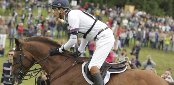 Fox Pitt ends cross-country in gold position