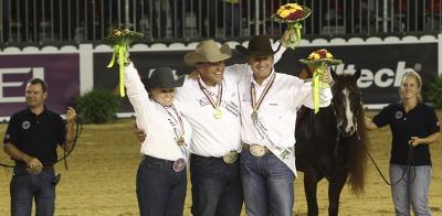The US Dream Team dominates the podium in the Individual Finals