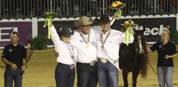 The US Dream Team dominates the podium in the Individual Finals
