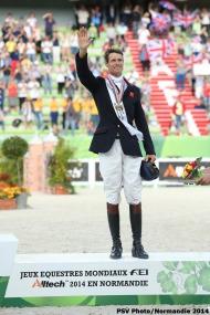 William Fox-Pitt in bronze - GBR  - Eventing  - ©Comité d'Organisation Normandie 2014
