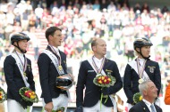 Germany in gold -  Eventing - ©Comité d'Organisation Normandie 2014