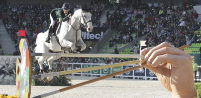The horse who battled horrific injuries to compete at Caen