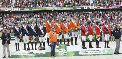 Dutch win Jumping gold by a whisker