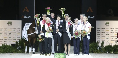 European Champions Take Pas De Deux Gold