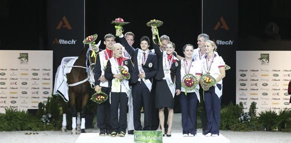 European Champions Take Pas De Deux Gold