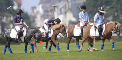 An afternoon of Polo at Deauville