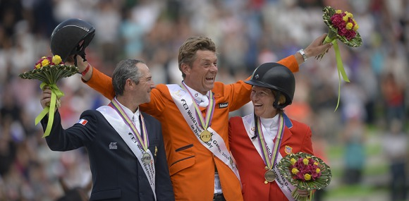 On form Dutchman jumps his way to gold