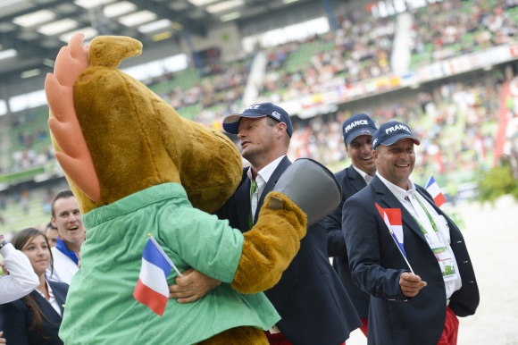 FEI President officially closes Alltech FEI World Equestrian Games™ 2014 in Normandy